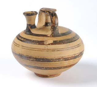 Mycenaean stirrup jar Leeds Museums and Galleries