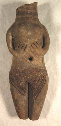 Bronze Age female figurine © Leeds City Museums