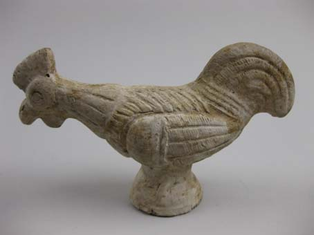 Cockerel figurine © Leeds Museums and Galleries