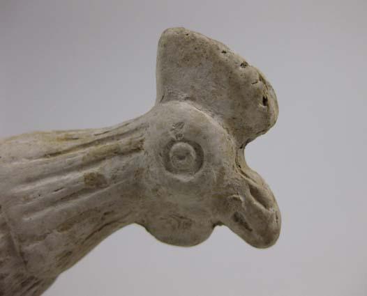 Head of cockerel figurine © Leeds Museums and Galleries