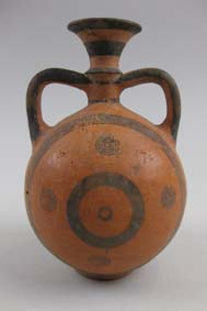 Black-on-Red flask © Leeds Museums and Galleries