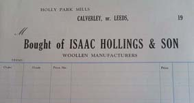 Isaac Hollings and Son