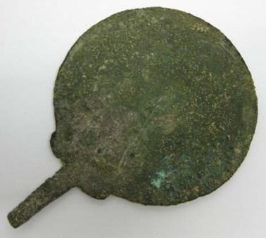 Bronze mirror © University of Leeds