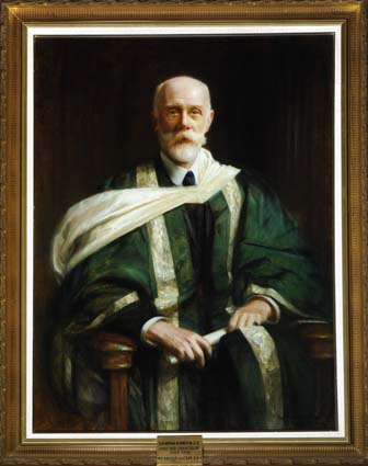 Portrait of Sir Nathan Bodington by Arthur Hacker © University of Leeds Art Collection