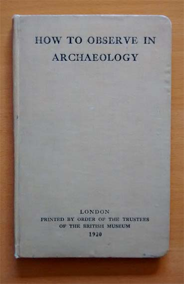 Cover of How to Observe in Archaeology