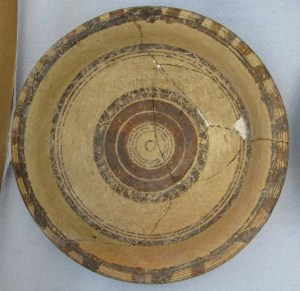 Plate after cleaning © University of Leeds