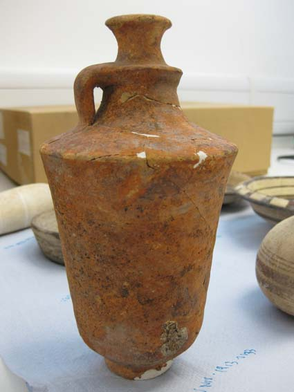 Punic jug after cleaning © University of Leeds
