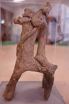 Horse and rider figurine © University of Leeds